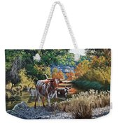 Lost Maples Watering Hole Weekender Tote Bag