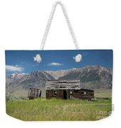 Lost River Range Cabin Weekender Tote Bag