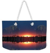 Lost World Reflections Weekender Tote Bag