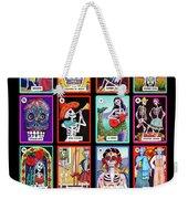 Loteria Dia De Los Muertos Weekender Tote Bag