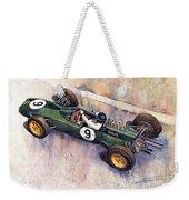 Lotus 25 F1 Jim Clark Monaco Gp 1963 Weekender Tote Bag