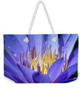 Lotus 9 Weekender Tote Bag