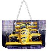 Lotus 99t Spa 1987 Ayrton Senna Weekender Tote Bag