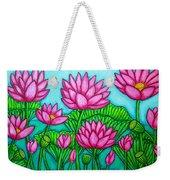 Lotus Bliss II Weekender Tote Bag