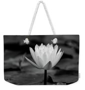 Lotus Blooms Weekender Tote Bag
