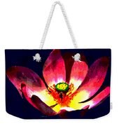 Lotus Blue Weekender Tote Bag
