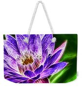 Lotus Close-up Weekender Tote Bag