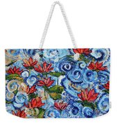 Lotus Cloud Sea 201759 Weekender Tote Bag
