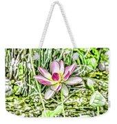 Lotus Flower Bloom In Pink 2 Weekender Tote Bag