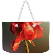 Lotus Flower Golden Glow Weekender Tote Bag