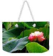Lotus Forms Weekender Tote Bag