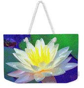 Lotus Grace Weekender Tote Bag