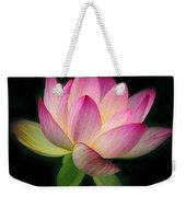 Lotus In The Limelight Weekender Tote Bag