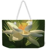 Lotus Light Weekender Tote Bag