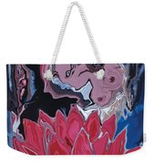 Lotus Love Weekender Tote Bag
