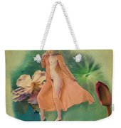 Lotus Maiden Weekender Tote Bag