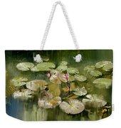 Lotus Pond 1 Weekender Tote Bag