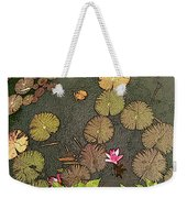 Lotus Pond Weekender Tote Bag