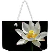 Lotus Reaching For The Sun Weekender Tote Bag