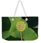 Lotus Seed Pod 1 Weekender Tote Bag