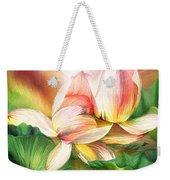 Lotus - Spirit Of Life Weekender Tote Bag