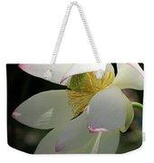 Lotus Under Cover Weekender Tote Bag