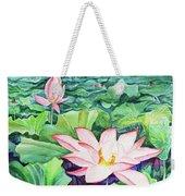 Lotus_01 Weekender Tote Bag