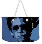 Lou Reed Weekender Tote Bag