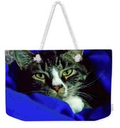 Louis And The Snuggy Weekender Tote Bag