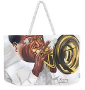 Louis Armstrong Weekender Tote Bag