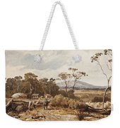 Louis Buvelot , At Ballan, 1876 Weekender Tote Bag