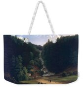 Louis Gauffier  View Of Falls At Vallombrosa Weekender Tote Bag