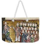 Louis Ix (1214-1270) Weekender Tote Bag