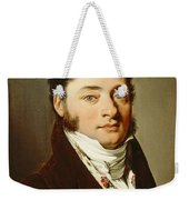 Louis-leopold Boilly - Portrait Of A Gentleman Weekender Tote Bag