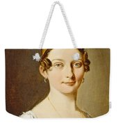 Louis-leopold Boilly - Portrait Of A Lady Weekender Tote Bag