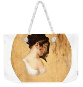 Louis-leopold Boilly - Profile Of A Young Womans Head Weekender Tote Bag