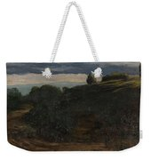 Louis Michel Eilshemius American 1864-1941 Summer Twilight, 1884 Weekender Tote Bag