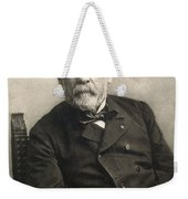 Louis Pasteur (1822-1895) Weekender Tote Bag