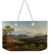 Louis Remy Mignot 1831-1870, Fishkill Mountains Weekender Tote Bag