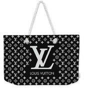 Louis Vuitton Pattern - Lv Pattern 11 - Fashion And Lifestyle Weekender Tote Bag