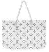 Louis Vuitton Pattern - Lv Pattern 14 - Fashion And Lifestyle Weekender Tote Bag