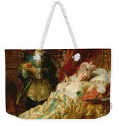Louis Xv And Madame Dubarry Weekender Tote Bag