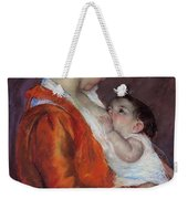 Louise Nursing Her Child Weekender Tote Bag