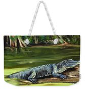 Louisiana Gator Weekender Tote Bag