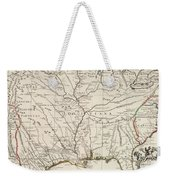 Map Of Louisiana And Of The River Mississippi Weekender Tote Bag