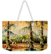 Louisiana Swamp Weekender Tote Bag