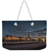 Louisville And Indiana Railroad At Jeffersonville Indiana Weekender Tote Bag