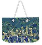 Louisville Kentucky Skyline Abstract 6 Weekender Tote Bag