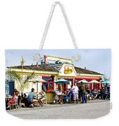 Loulou's On The Commercial Pier In Monterey-california Weekender Tote Bag