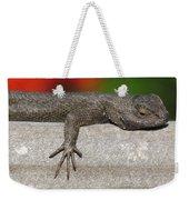 Lounge Lizard Weekender Tote Bag